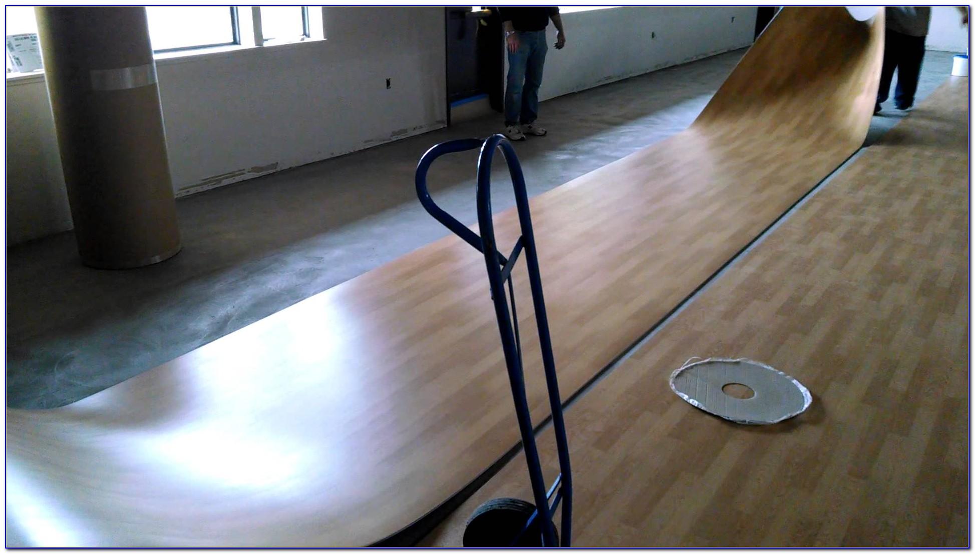 Vinyl Floor Tile Roller