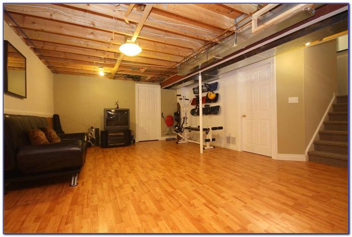 Flooring ideas for basements flooring home design for Basement flooring options cork