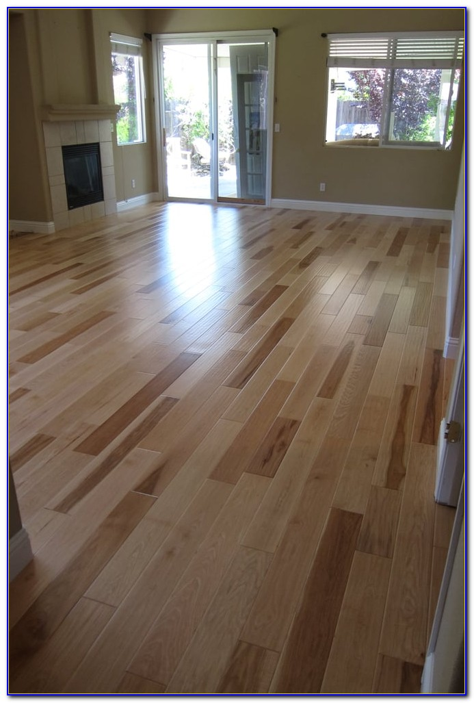 Wide Plank Hand Scraped Engineered Hardwood Flooring