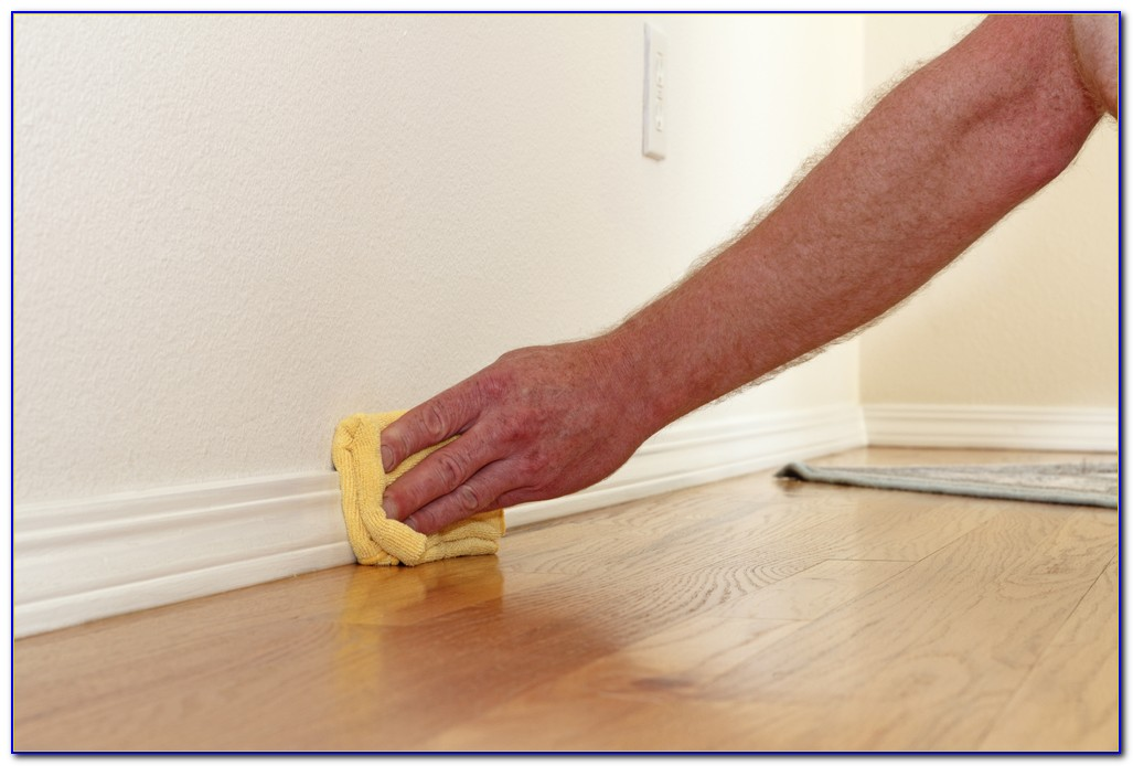 Wood Floor Without Shoe Molding