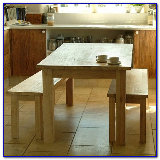 Wooden Bench For Kitchen Table