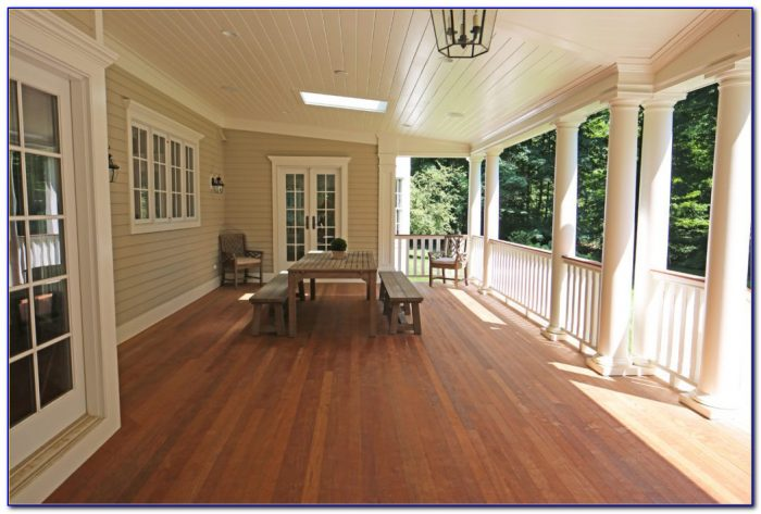 Wooden Tongue And Groove Porch Flooring