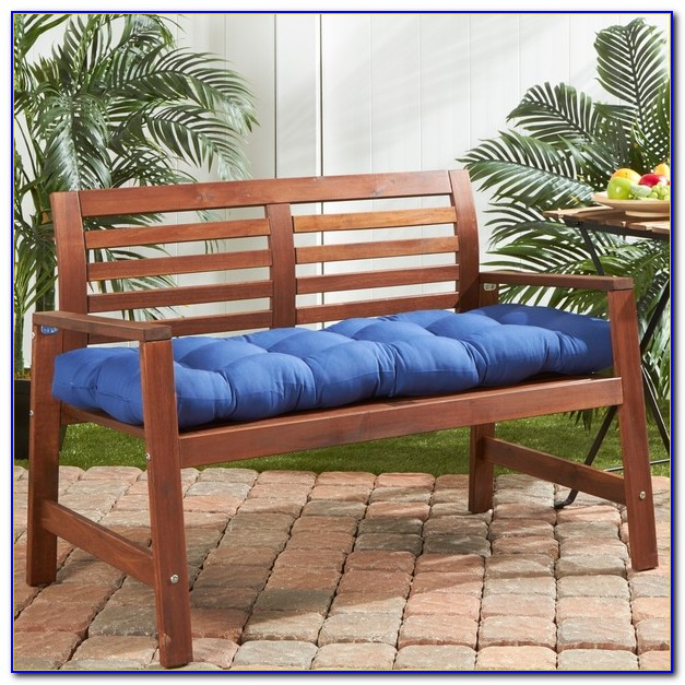 36 Inch Wide Outdoor Bench Cushion