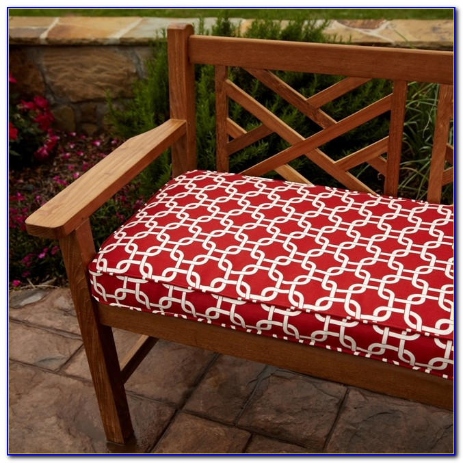48 X 24 Outdoor Bench Cushion Bench Home Design Ideas