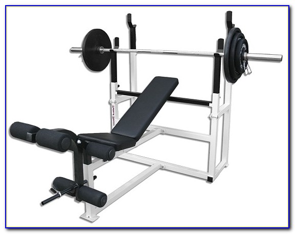 Nautilus Olympic Weight Bench And Squat Rack Bench