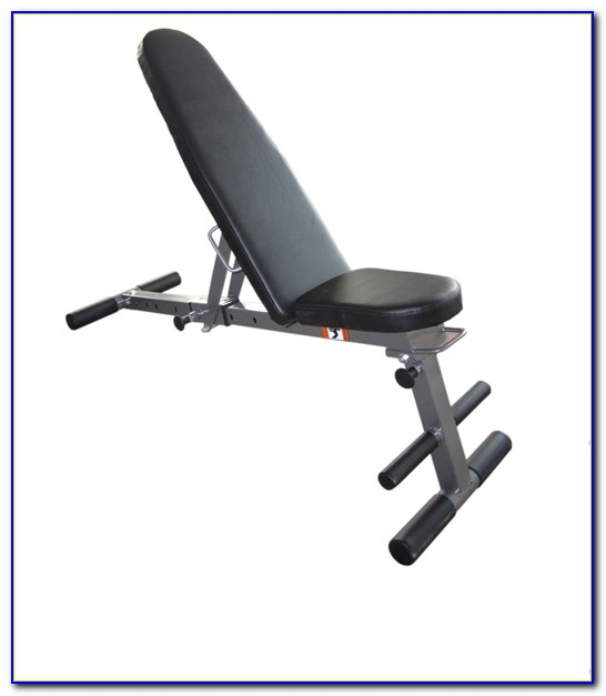 Adjustable Height Weight Lifting Bench