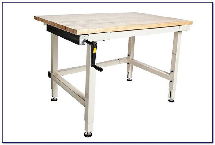Adjustable Height Workbench Legs