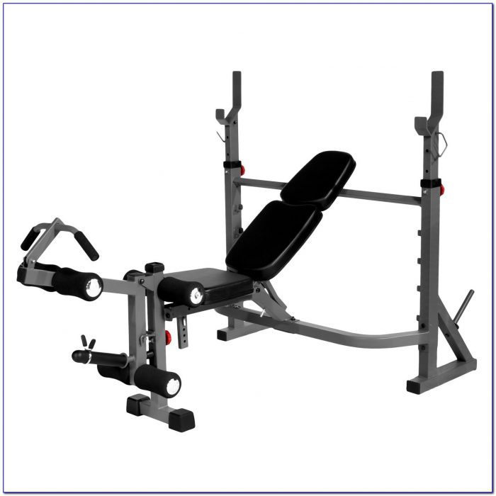 Adjustable Weight Bench With Leg Extension