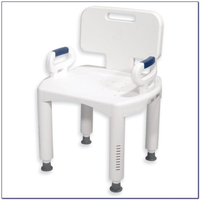 Bath Bench With Back Drive