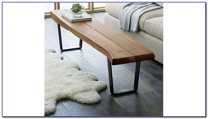Bench As Coffee Table