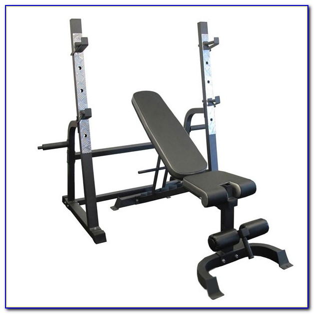 Bench Press Squat Rack Combo