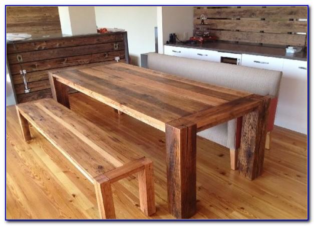Bench Seat Kitchen Table Set