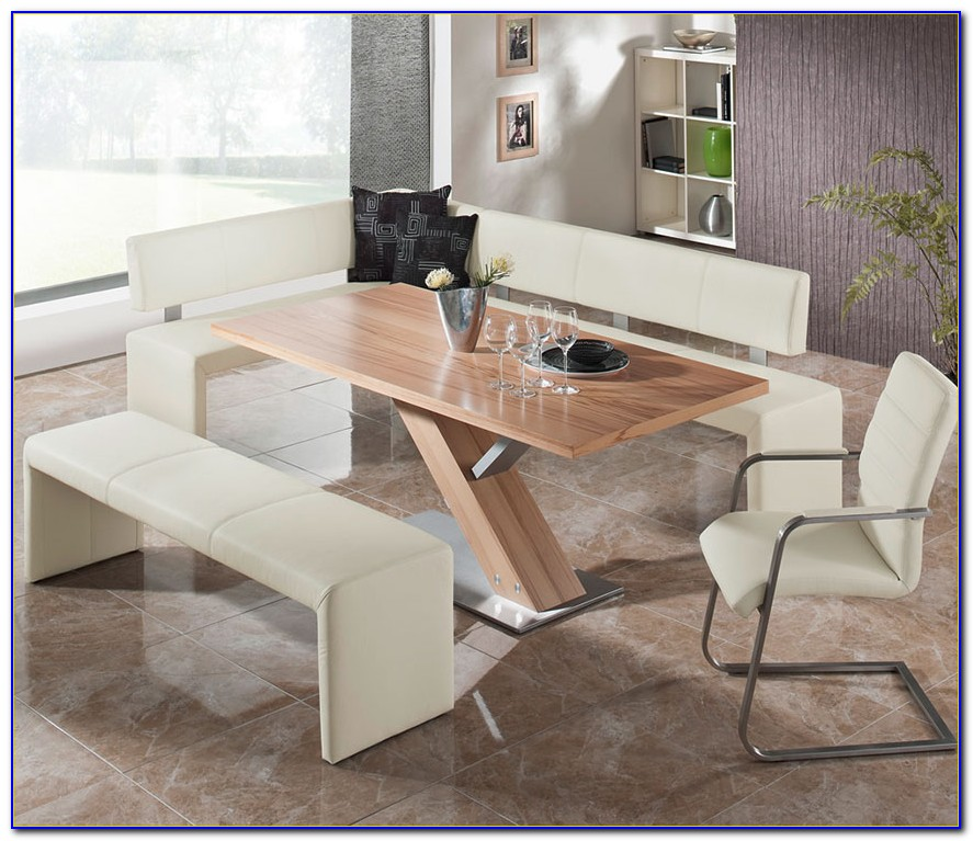 Bench Seating Dining Table Set