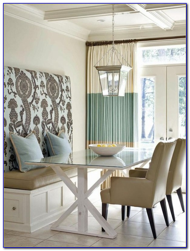 Bench Style Breakfast Nook