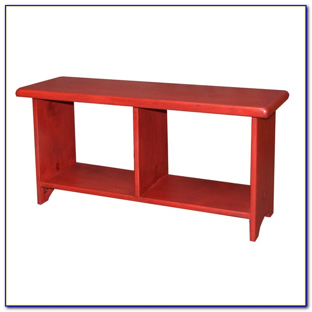 Bench With Cubby Storage