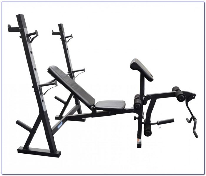 Body Champ Olympic Weight Bench With Squat Rack