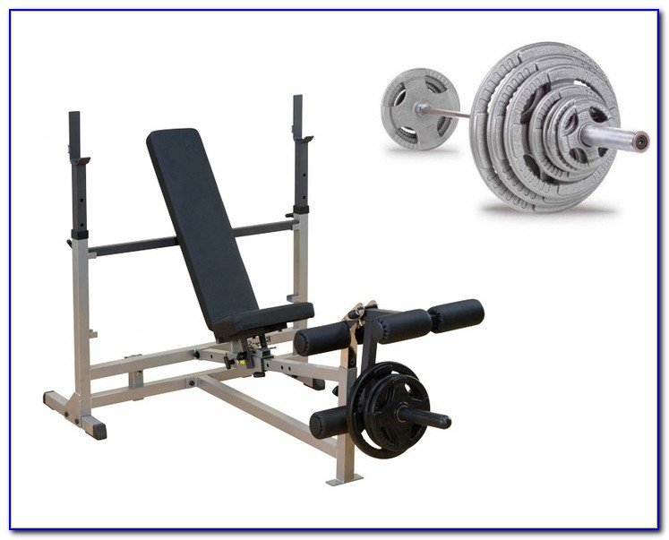 Body Solid Sdib370 Olympic Bench Rack Combo Bench Home