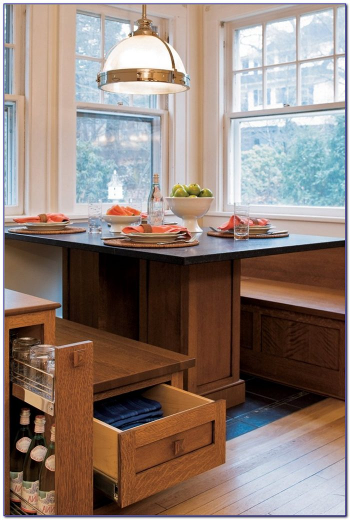 Breakfast Nook Bench With Storage