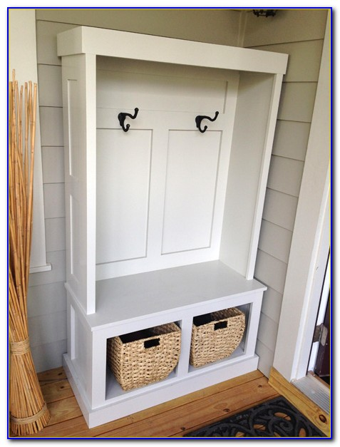 Build A Mudroom Bench