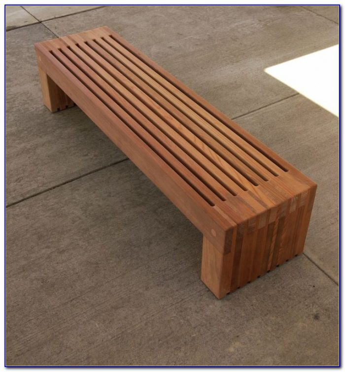Build A Wooden Bench With Storage