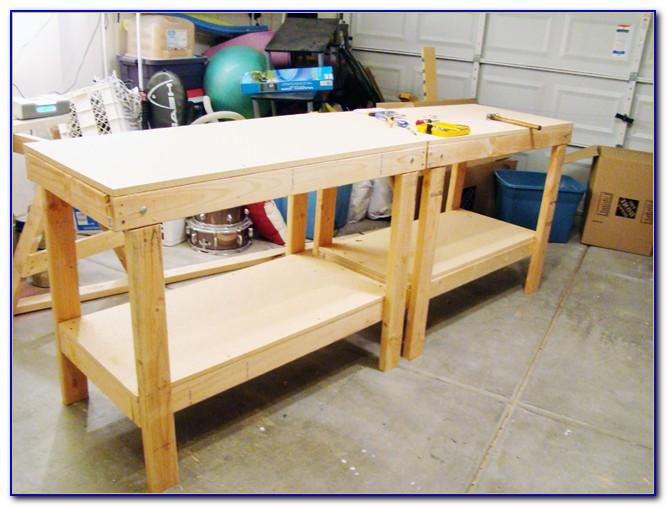 Build A Workbench For Garage