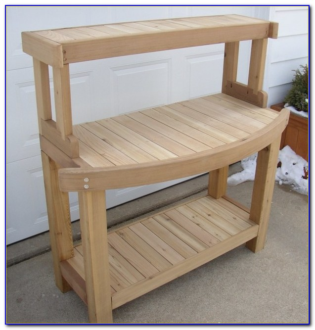 Building A Potting Table