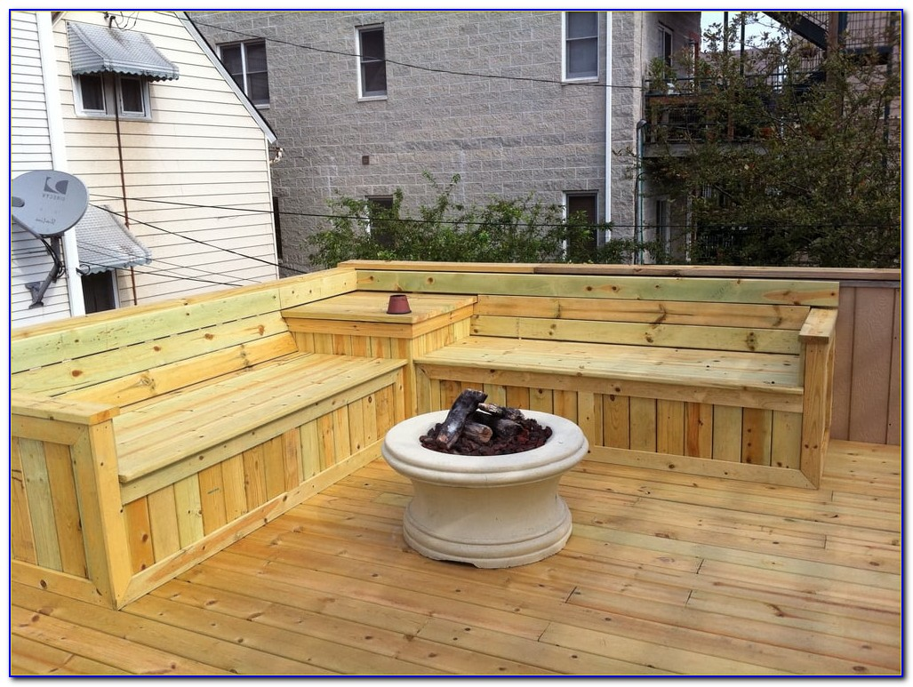 seat table deck metal and designs bench seating garden curved