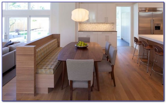 Built In Bench Seat Kitchen Table