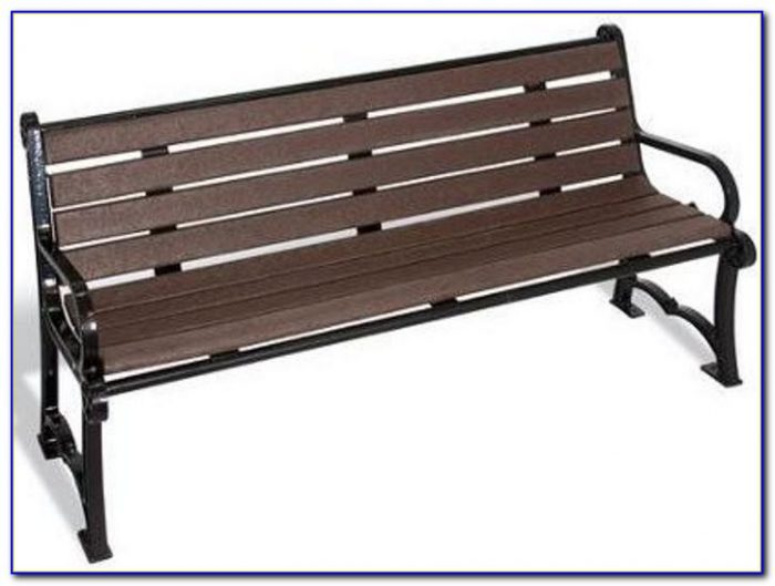 Cast Aluminium Park Bench