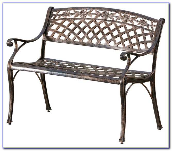 Cast Aluminum Benches Outdoor