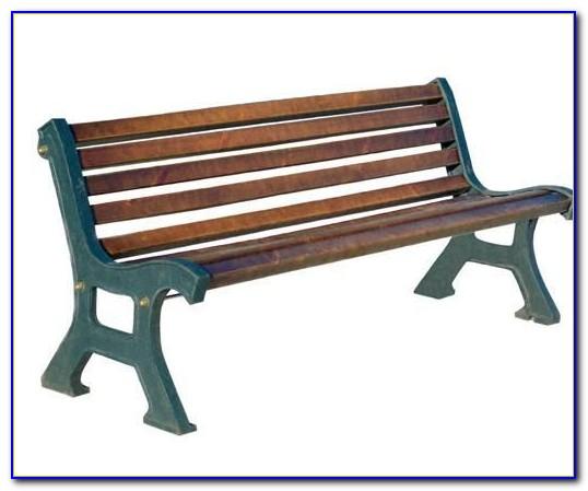 Cast Aluminum Park Bench Legs