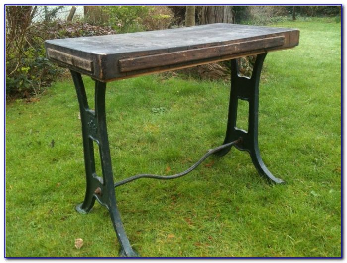 Cast Iron Workbench Legs