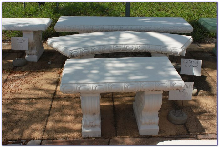 Cement Picnic Table And Benches
