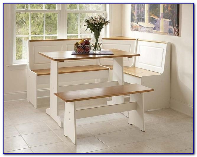 Breakfast Nook Dining Set Corner Bench Kitchen Booth