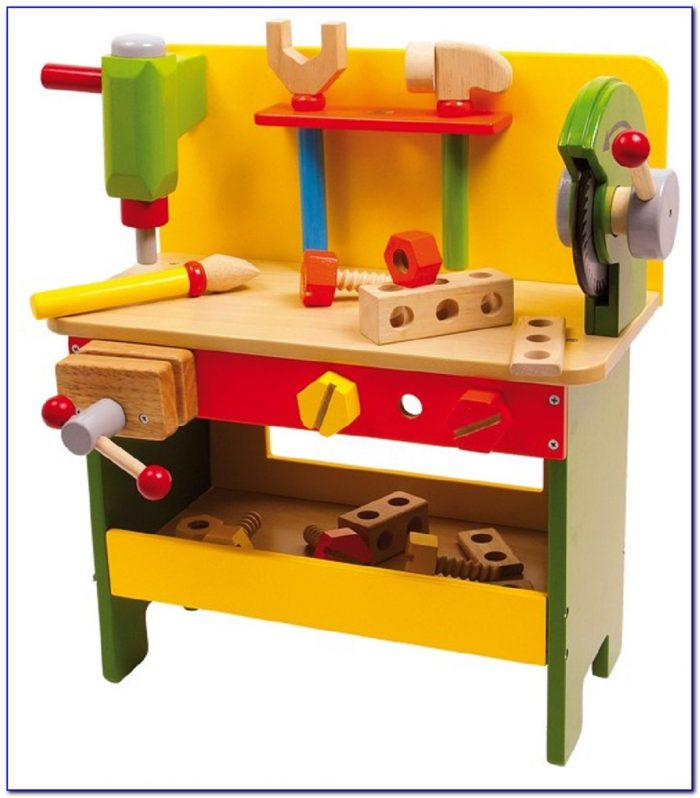Childrens Wooden Tool Bench Uk
