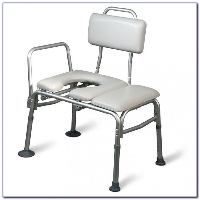 Sliding Transfer Bench With Commode Opening Bench Home