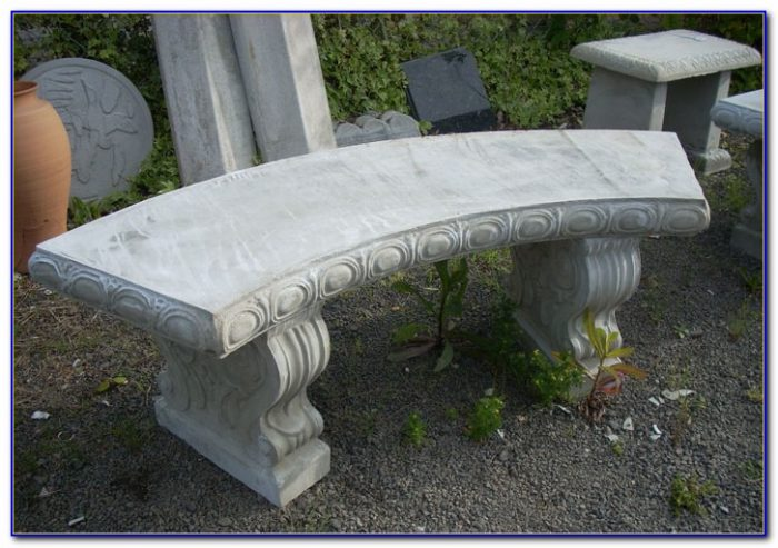 Outdoor Concrete Benches And Tables Bench Home Design