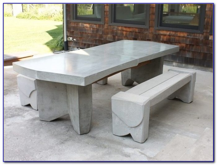 Concrete Tables And Benches In Gauteng