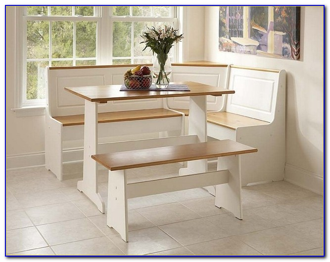 Corner Kitchen Table With Bench And Storage