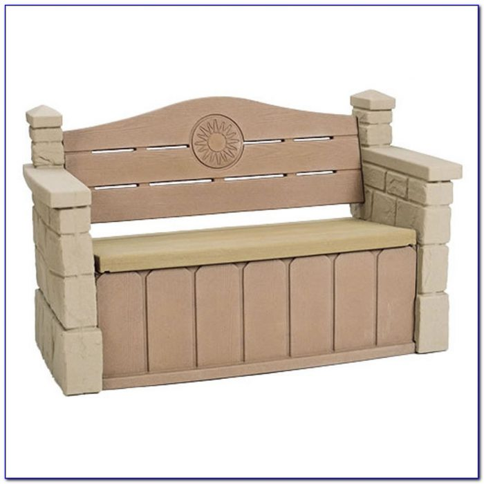 Deck Bench With Storage