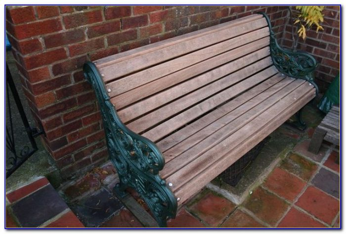 Department 56 Wrought Iron Park Bench