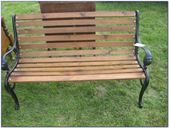 Dept 56 Wrought Iron Park Bench