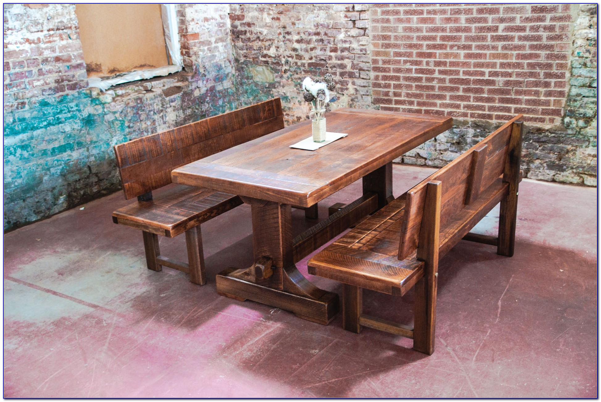 Dining Room Benches With Backs