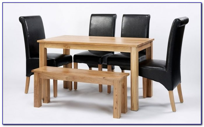 Dining Table With 3 Chairs And Bench