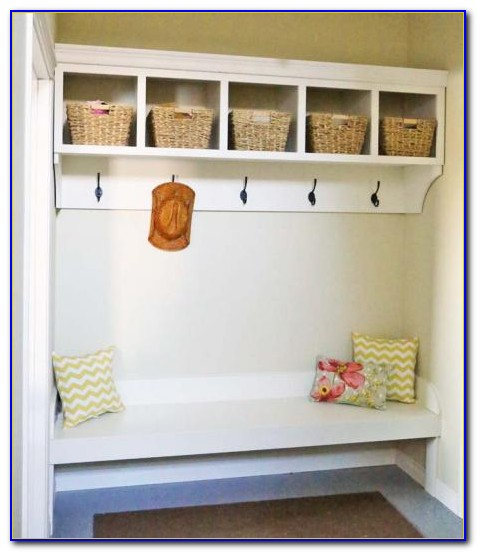 Diy Mudroom Bench With Storage