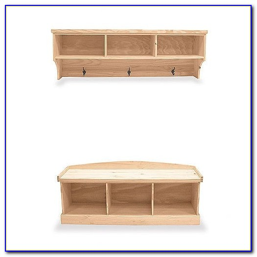 Entry Storage Bench With Cushion