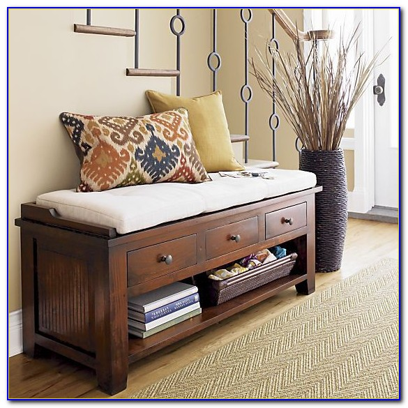 Entryway Bench And Shoe Storage