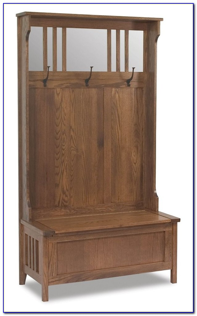 Foyer And Entryways Uk : Entryway bench seat with hat coat rack storage shoe shelf