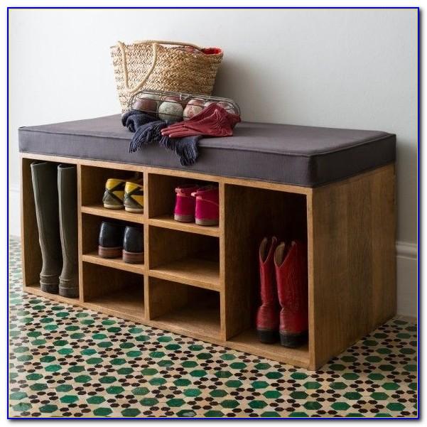 Shoe storage bench entryway ikea bench home design for Shoe rack bench ikea