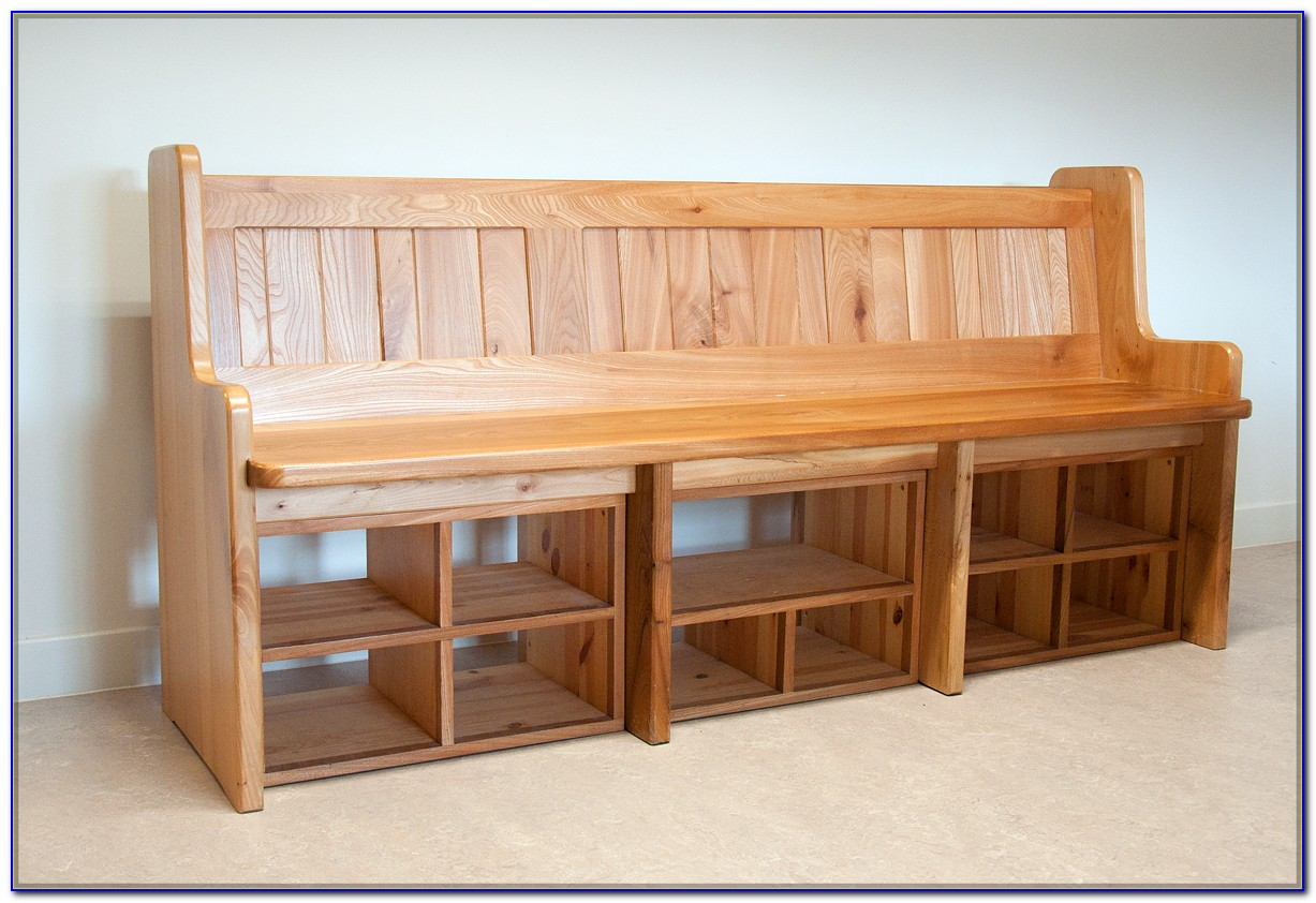 Entryway Benches With Storage
